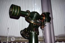 The mounting of the 1886 build refractor